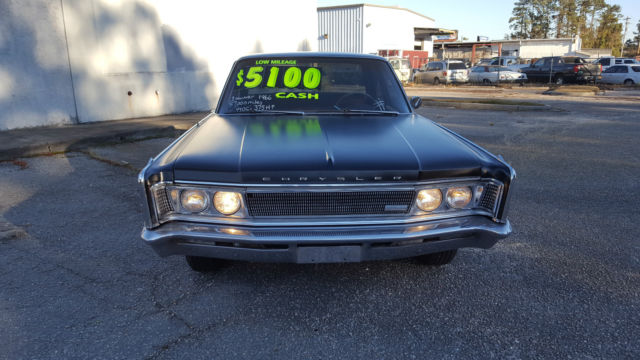 1966 Chrysler Newyorker 2 Owner 440 Ci Tnt Cool Car Low