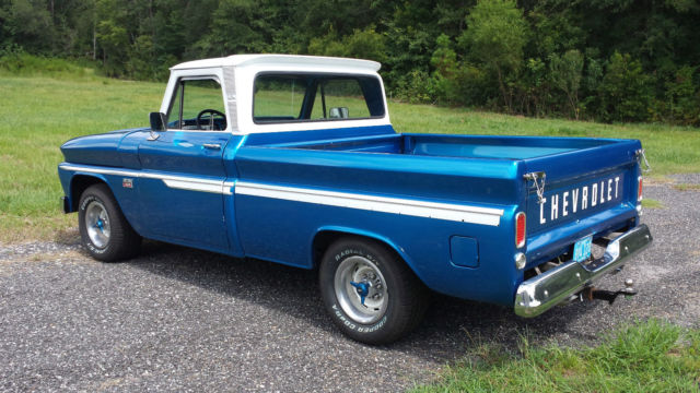 1966 Classic Chevy Chevrolet Custom C-10 Fleetside ...