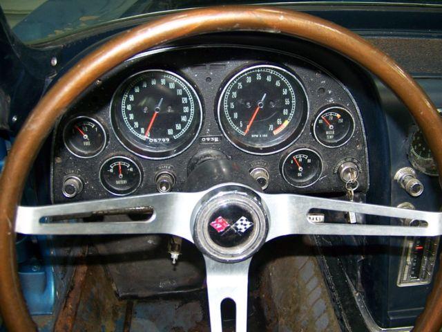 1966 CORVETTE 427 425HP CONVERTIBLE PROJECT CAR - Classic