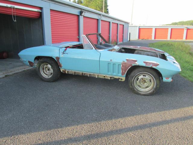1966 Corvette convertible project SCCA Sebring Daytona FIA