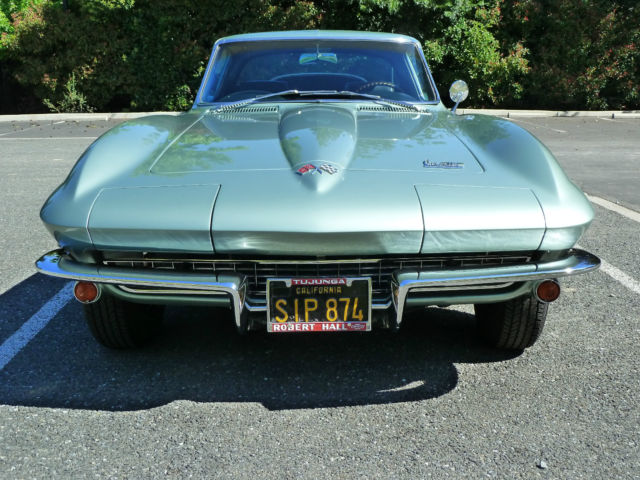 1966 Corvette Coupe 327 Small Block 300 Hp Factory Ac