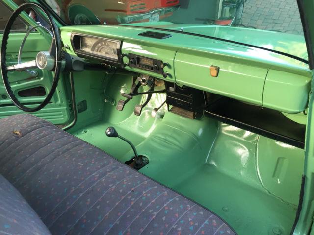 1966 Datsun 1300 520 Rare Pickup Truck Restored No Reserve  Original Great Cond