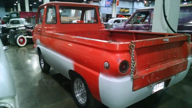 Cavalcade Of Customs >> 1966 DODGE A100 PICKUP TRUCK--LITTLE RED WAGON--RARE FIND - Classic Dodge Other Pickups 1966 for ...