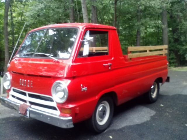1966 Dodge A100 Pickup Truck With Auto Trans Amp Slant 6