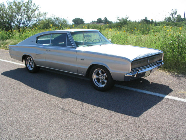 1966 Dodge Charger 383 4 Speed Mopar Muscle Car Classic