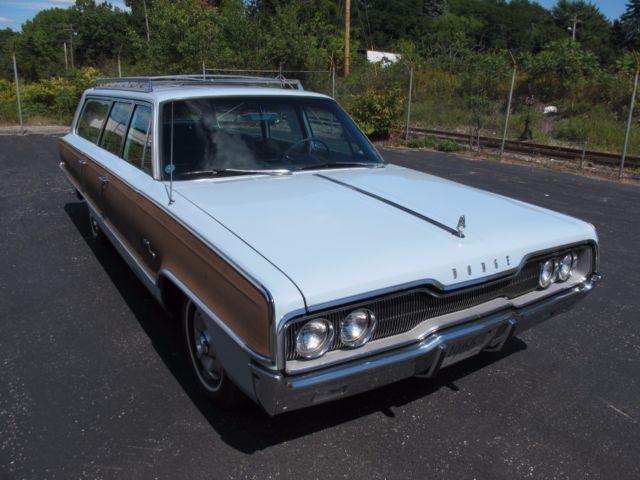 1966 Dodge Monaco Quot Woodie Quot Station Wagon Classic Dodge