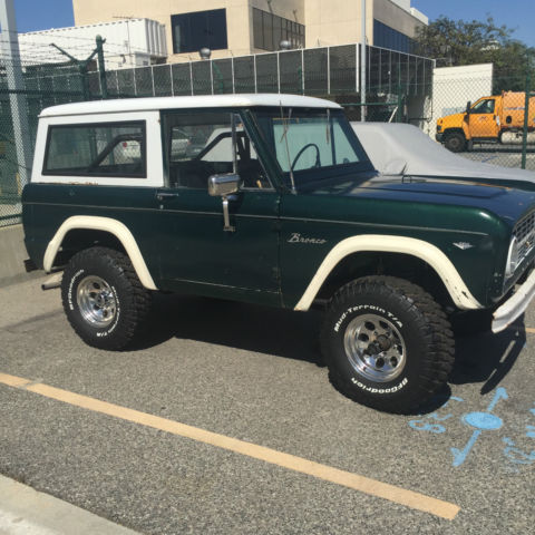 1966 Ford Bronco 4x4 Brand New Wheels Amp Tires Hard