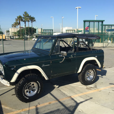 1966 Ford Bronco, 4x4, Brand new wheels & Tires, Hard ...