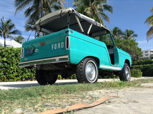 1966 Ford Bronco Base 2 8L U13 Roadster!!!! AMAZING SURVIVOR