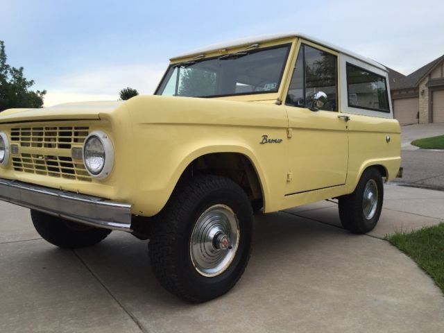 1966 ford bronco u15 wagon uncut and original classic. Black Bedroom Furniture Sets. Home Design Ideas