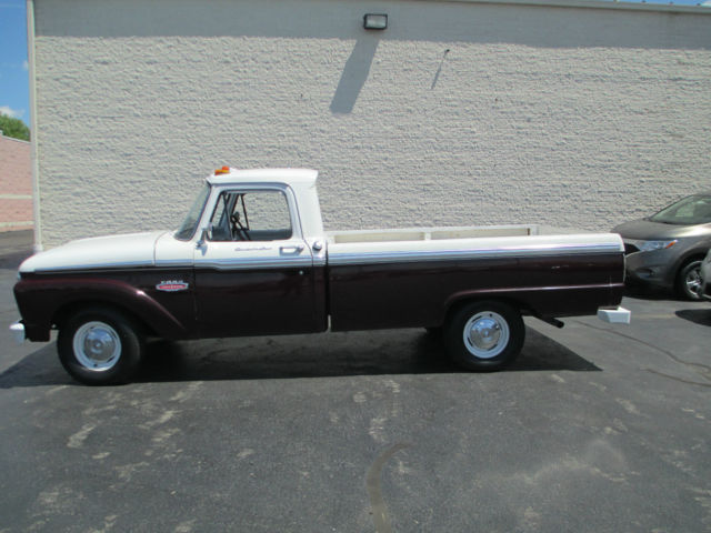 1966 ford f 100 custom cab long bed classic ford f 100 1966 for sale. Black Bedroom Furniture Sets. Home Design Ideas