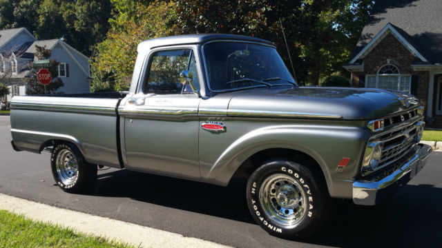 1966 ford f 100 custom cab shortbed restored 2 owner nc truck beautiful classic ford f. Black Bedroom Furniture Sets. Home Design Ideas