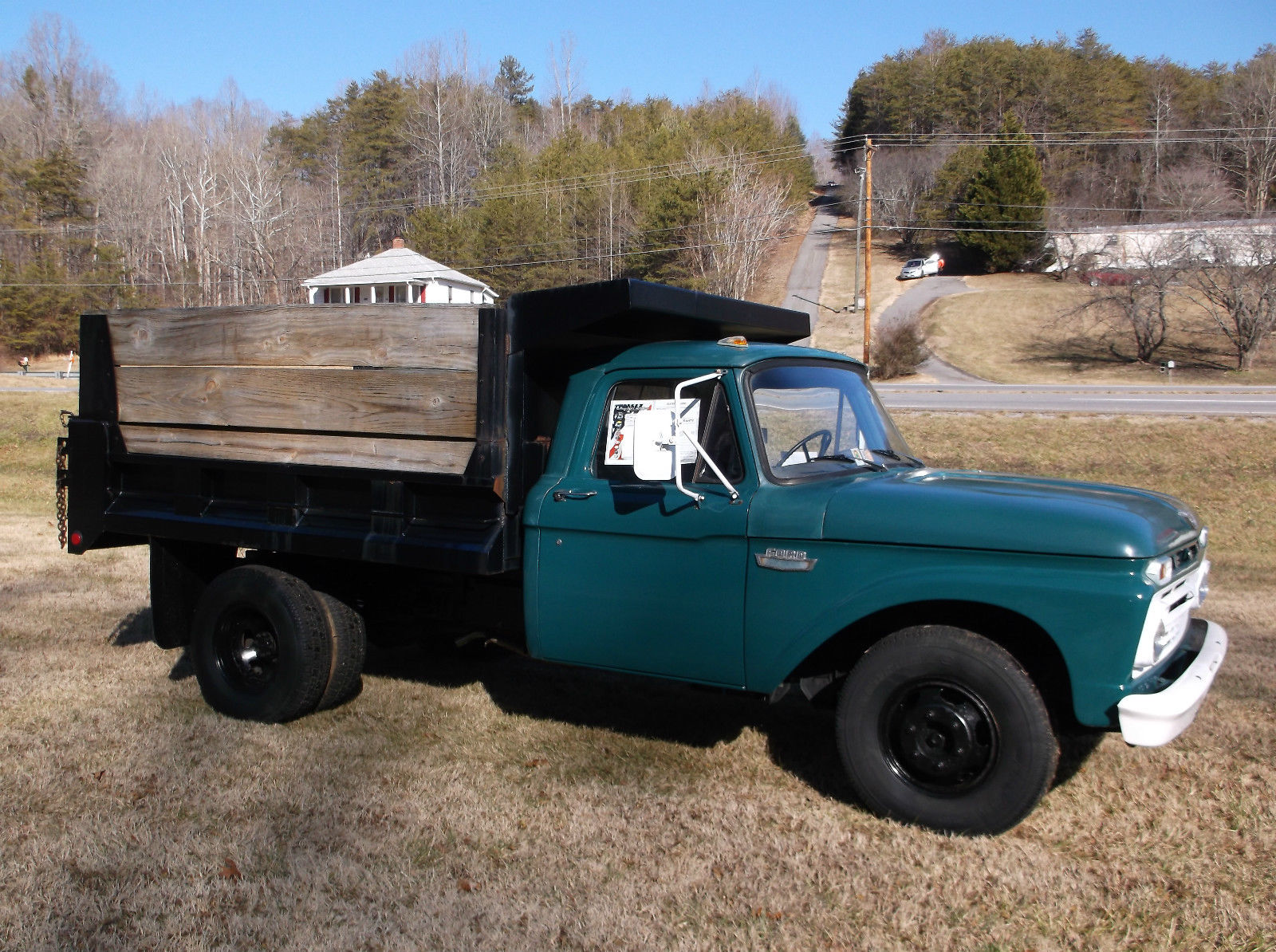 Ford F Dump Bed Truck