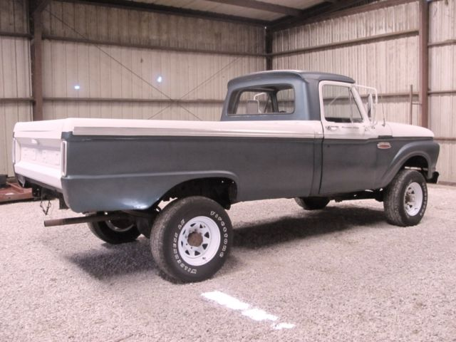1966 ford f100 custom cab on f250 4x4 running gear. Black Bedroom Furniture Sets. Home Design Ideas
