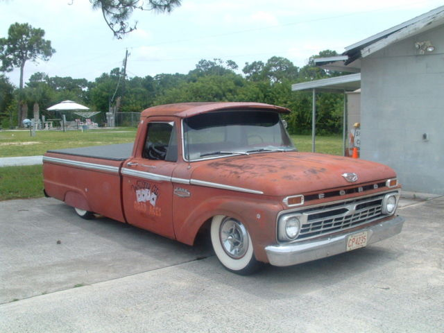 1966 Ford F100 Rat Rod Classic Ford F 100 1966 For Sale