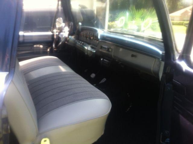 1966 Ford F100 Truck Custom Cab Vintage Beauty Classic