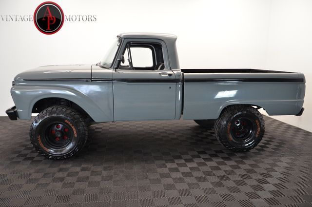1966 FORD F100 V8 4X4 LIFTED POWER STEERING!! - Classic ...  1966 FORD F100 ...