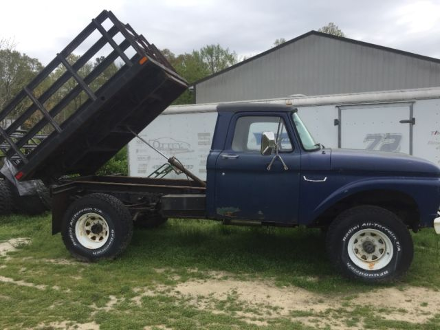 1966 Ford F250 4x4 with dump bed - Classic Ford F-250 1966 ...