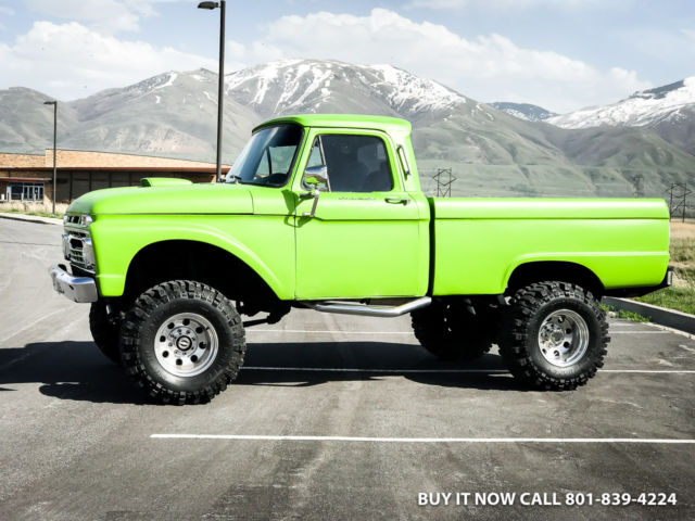1966 ford f250 highboy monster 4wd short bed fresh 460 v8. Black Bedroom Furniture Sets. Home Design Ideas