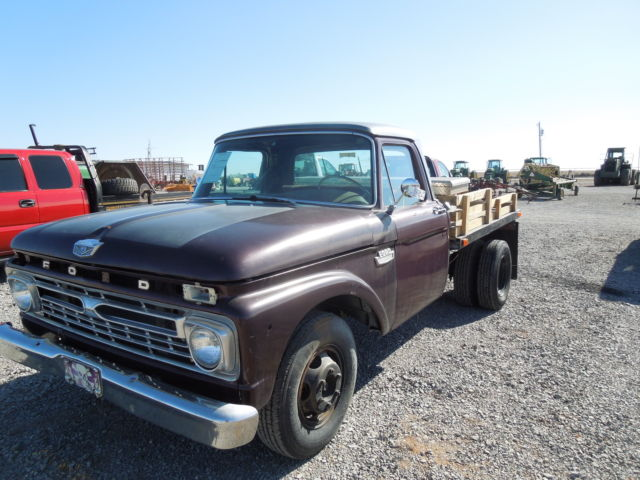 Ford F Flatbed Dually Classic K Miles Rust Free on Ford F 350 Parking Brake