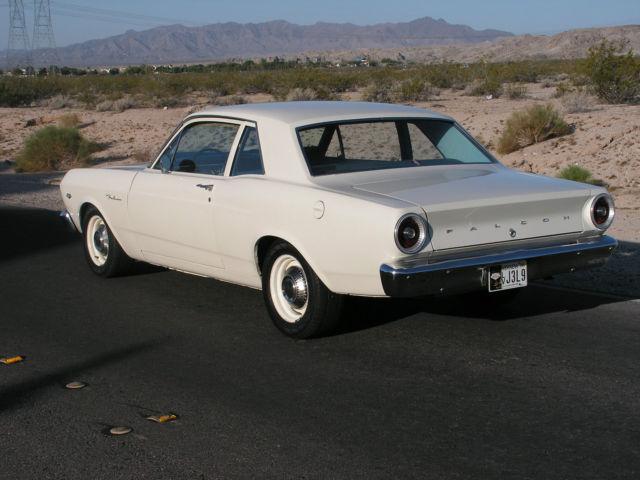 1966 Ford Falcon 2-door sedan - Classic Ford Falcon 1966 for