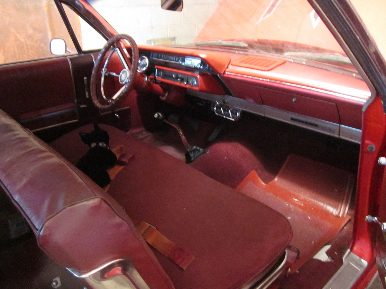 65 Mustang For Sale >> 1966 Ford Galaxie 500 Fastback, Red, Manual 3-Speed Transmission, 2-Door - Classic Ford Galaxie ...