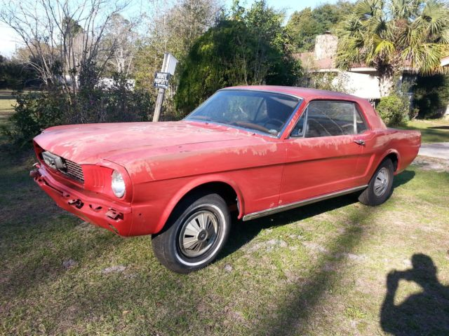 1966 FORD MUSTANG 289 AUTOMATIC 1965 1967 1968 1969 COUPE