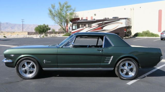1966 Ford Mustang C Code 289 V8 Pony Seats Restored Ivy