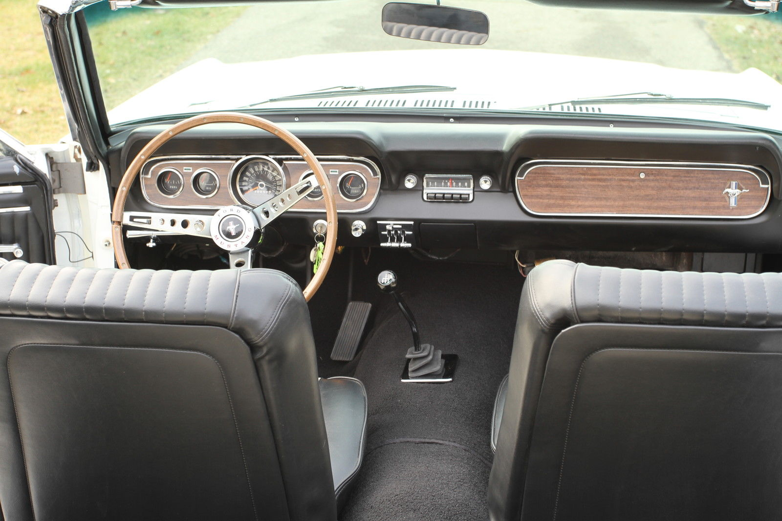 1966 Ford Mustang Convertible 289 C Code Pony Interior