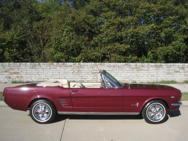 1966 ford mustang convertible 289 v8 auto w pony interior powersteering classic ford for 1966 ford mustang pony interior