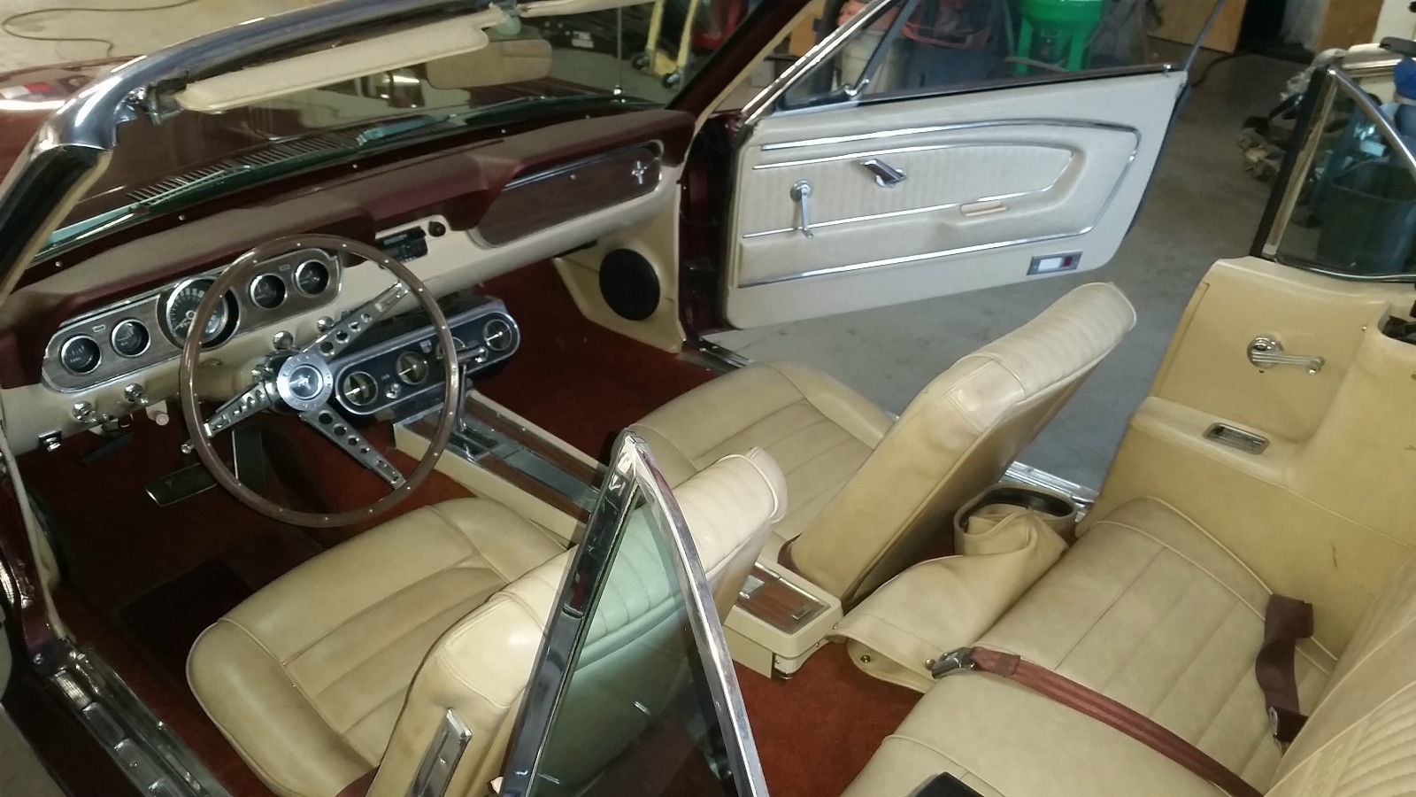 1966 ford mustang convertible pony interior 289 automatic classic ford mustang 1966 for sale - Interior ford mustang ...