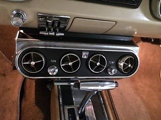 1966 Ford Mustang Coupe V8 Factory Air Conditioning