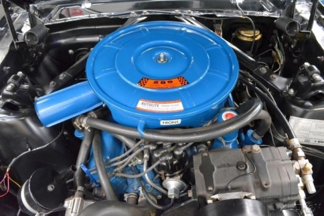 1966 Ford Mustang Gt 4 Speed Manual Air Conditioning