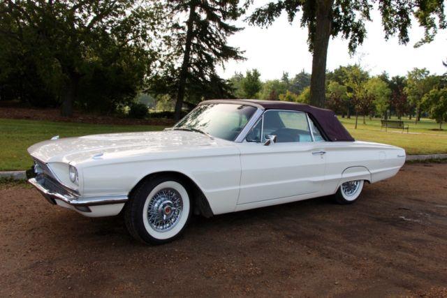 1966 Ford Thunderbird Quot Q Quot Code 428 Retractable Soft Top