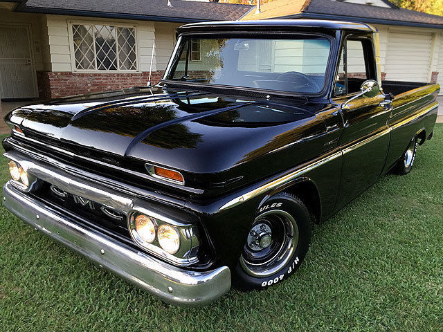 Custom Gmc Trucks >> 1966 GMC C-10 Short Bed Modified Pick Up Truck NO RESERVE! - Classic Chevrolet C-10 1966 for sale
