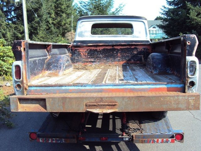 Gmc Chevrolet Crew Cab Pickup Rat Rod Shop Truck Not Ford Dodge on 1965 Dodge 4 Door Truck