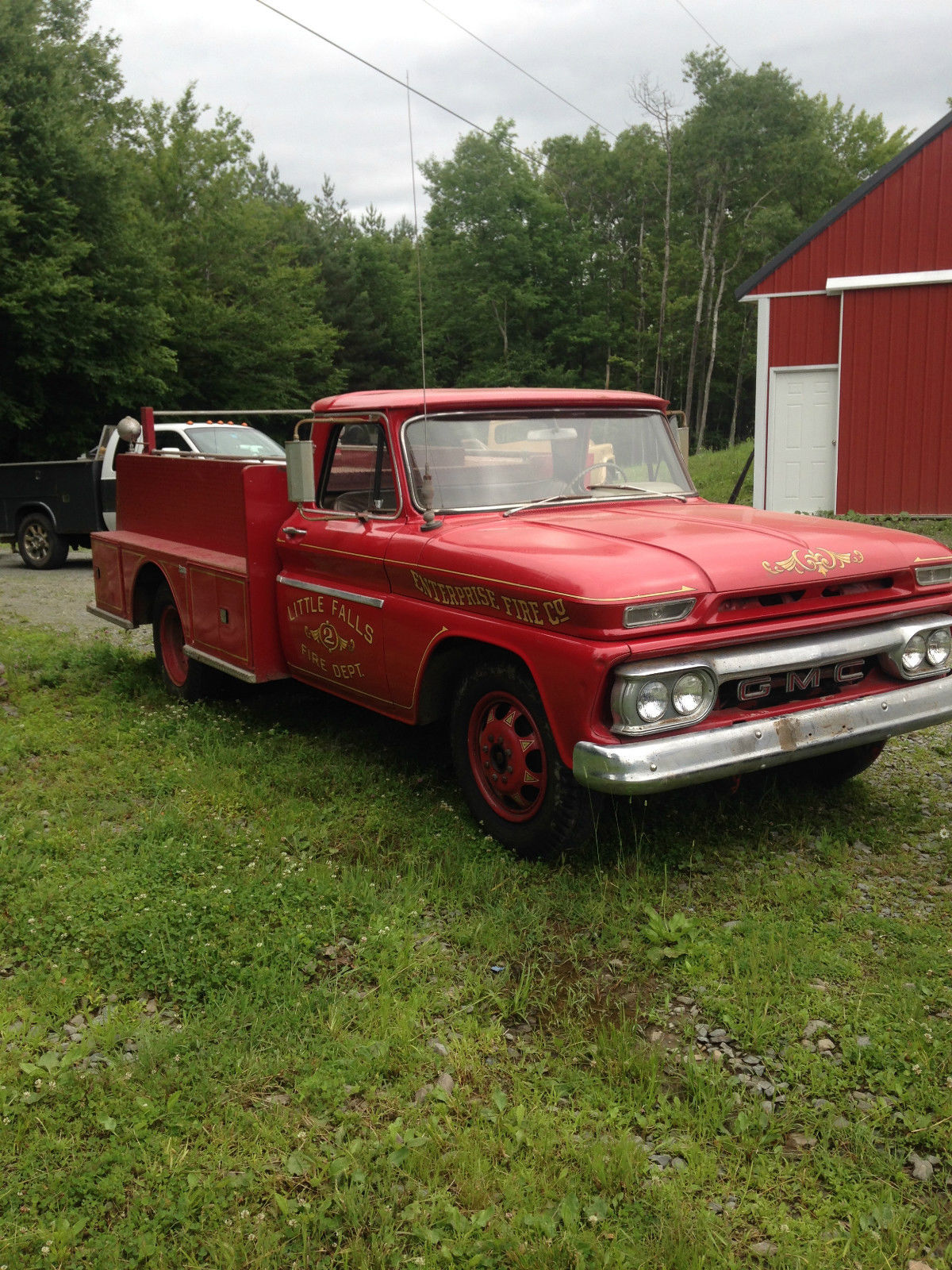 1966 GMC One Ton Utility Fire Truck Bill of sale only ...