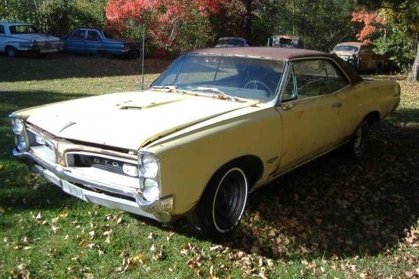 1966 GTO Pontiac Project Barn Find 242 Muscle Car Original
