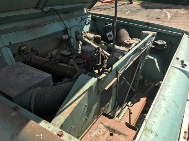 ih international harvester scout  sportop  rare original convertible classic