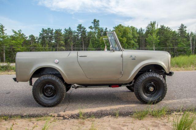 1966 International Scout 800 Bronco Suv 4x4 Jeep