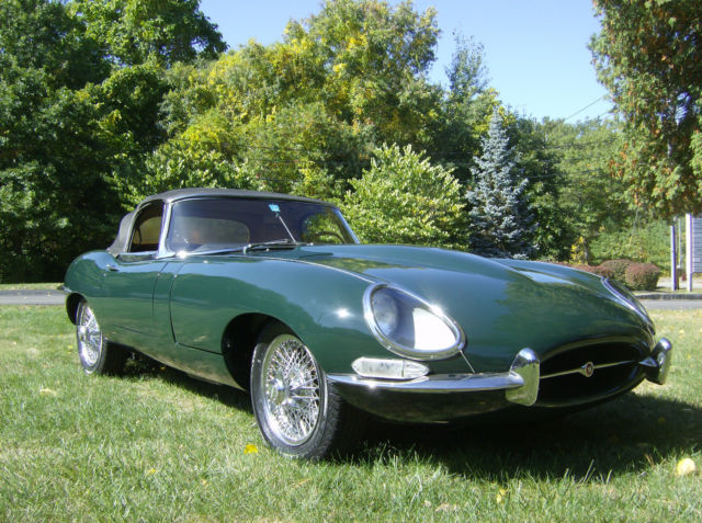 1966 jaguar 4 2 e type roadster classic jaguar e type. Black Bedroom Furniture Sets. Home Design Ideas