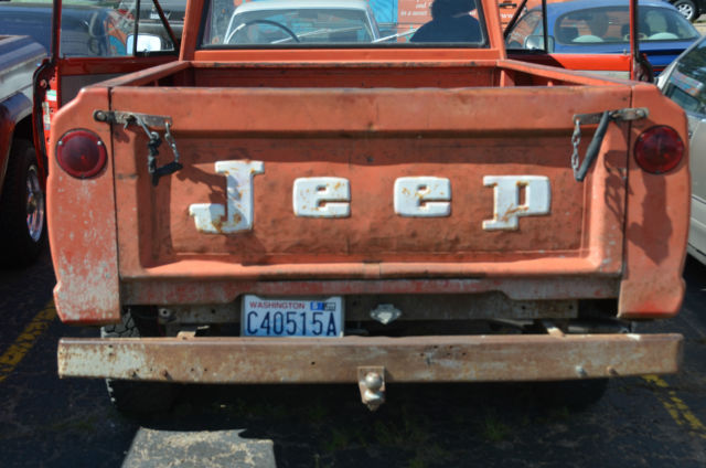 Used Cars For Sale In Denver >> 1966 Jeep Gladiator Pickup Truck V8 Stock Original - Classic Jeep Other 1966 for sale