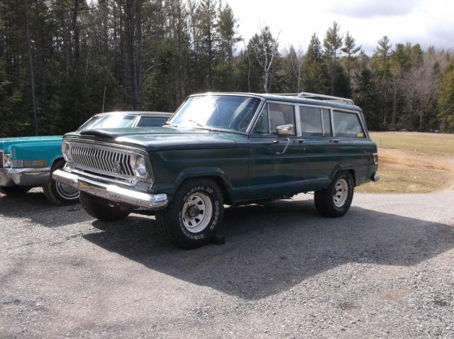 1966 Jeep Wagoneer 4X4 350 Chevy V8 400 Turbo Hotrod Project