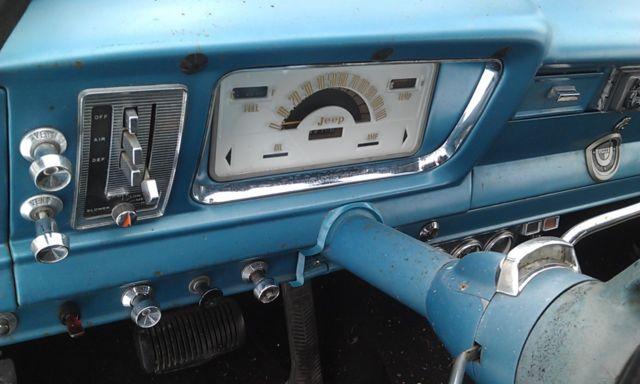 Jeep Grand Wagoneer For Sale >> 1966 Jeep Wagoneer AMC 327 - Classic Jeep Wagoneer 1966 ...
