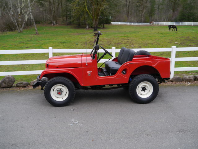 1966 Jeep Willy Cj5 34 000 Actual Miles Classic Jeep Cj