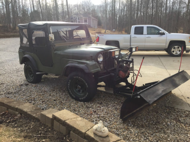 Army Green Jeep Wrangler >> 1966 Jeep Wrangler CJ-5 snow plow new soft top new tires new brakes new clutch - Classic Jeep ...