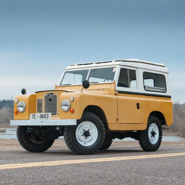 1966 Land Rover Santana Series IIA 88 4x4