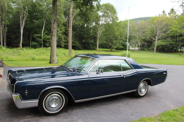 1966 Lincoln Continental 2 Door Coupe Classic Lincoln