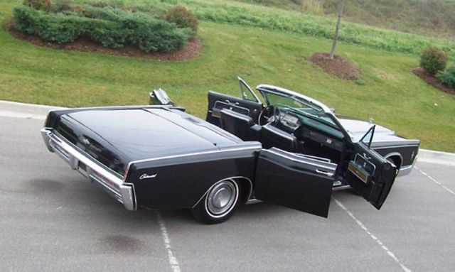 1966 lincoln continental convertible with air ride. Black Bedroom Furniture Sets. Home Design Ideas