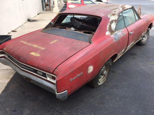 1966 malibu chevelle SS396 project - Classic Chevrolet ...
